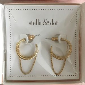 Stella & Dot Jewelry - Stella & Dot - Illusive Hoops
